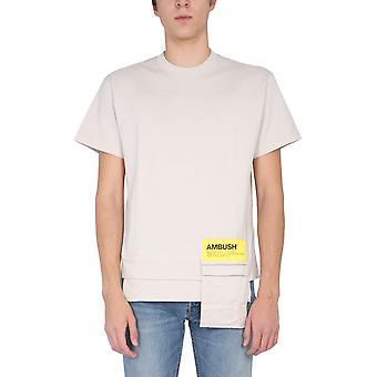 Emboscada Bmaa004f20jer0016100 Men'camiseta bege cotton