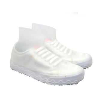 Silicone Reusable Latex Waterproof Rain Shoes Covers - Slip-resistant Rubber