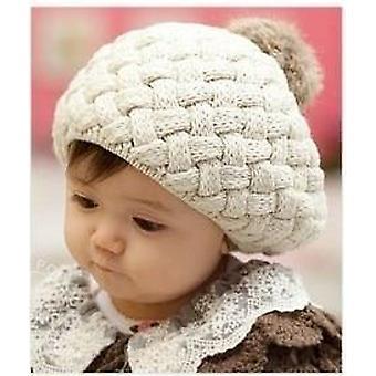 Winter Knit All'uncinetto Bambino Berretto Cotone Caldo Berretto