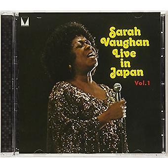 Sarah Vaughan - Live in Japan 1 [CD] Usa import