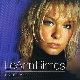 LeAnn Rimes - jag behöver du [CD] USA importerar