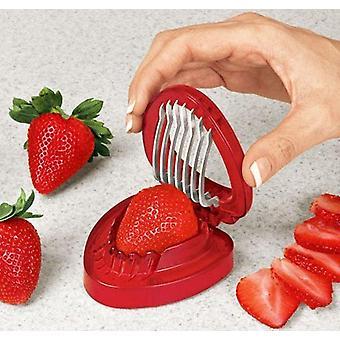 فراولة مقسمة