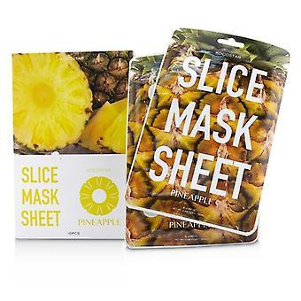 KOCOSTAR Slice Mask Sheet - Pineapple (Exp. Date 05/2021) 10sheets