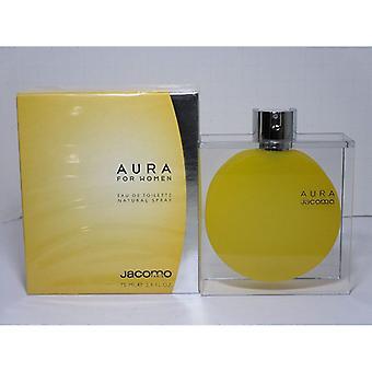Jacomo Aura For Woman Eau de Toilette Spray for Women 75 ml