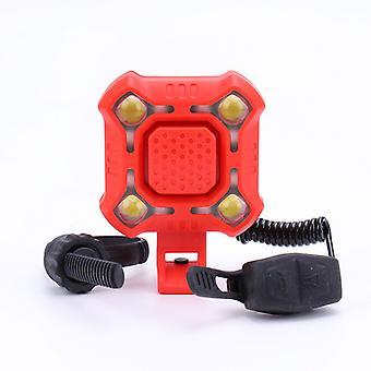 Reflektory rowerowe z ładowaniem USB i rogiem