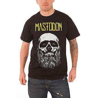 Mastodon Mens T Shirt Black Admat Bearded Skull band logo Official