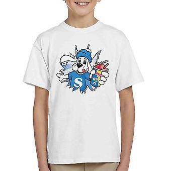 Slush Puppie Burst Through Kid's T-Shirt