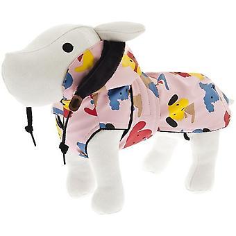 Ferribiella Gefrorene Mantel mit Kapuze und Bedrucken Dogs