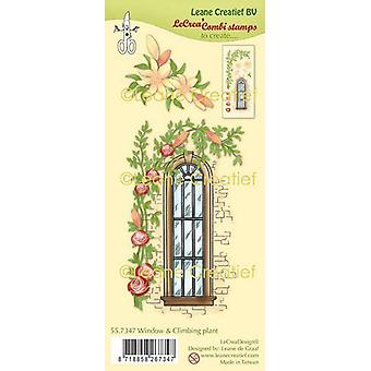 Lecrea - Clear Stamp Combi Window With Climbing Plant 55.7347