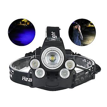 XANES 2408B Dimmed USB Headlamp Camping Hunting Bike Bicycle Cycling Motorcycle Electric 18650