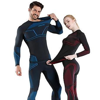 Winter Women-men Snowboard Thermal Underwear, Quick-drying Sports Hiking