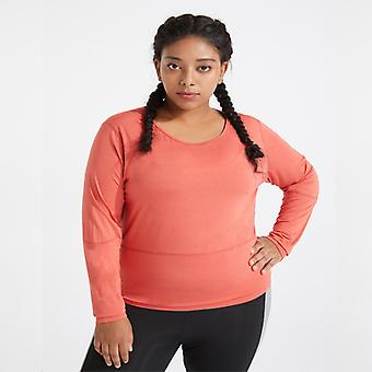 Women's plus size yoga fitness sports top M03