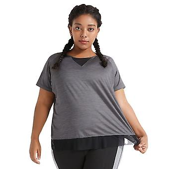 Women's plus size yoga fitness sport topp M27