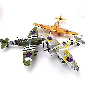 Spitfire Fighter Model Kit Educational For (1pcs Random Color)