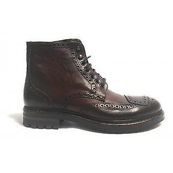 Men's Shoes Polish Horses Brogue Leather Color Cognac Hand Made U18ca02