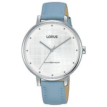 Lorus RG269PX9 Blau Lederarmband Damenuhr