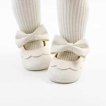 baby sandaler tresko søte leiligheter med bowknot prinsesse kjole sko
