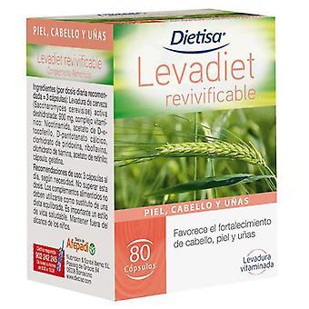 Dietisa LevaDiet Revivificante 80 Capsules