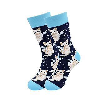 Casual Designer Trending Animal Socks - Cat And Women