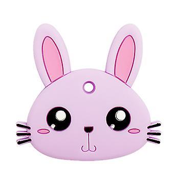 Dentiere di coniglio in silicone Per i più piccoli, giocattolo a bastone molare bambino