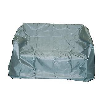 غطاء أريكة 160 × 80 × 75 سم البوليستر الرمادي