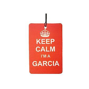 Keep Calm jeg en Garcia bil luftfriskere