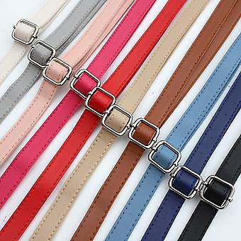 Leather Shoulder Strap Crossbody Bag Belt