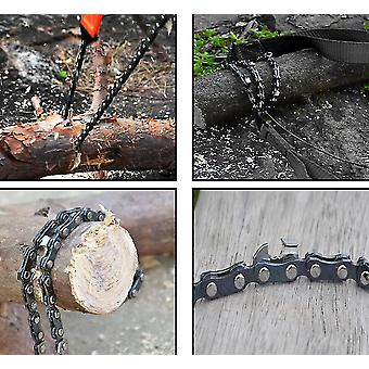 Pocket Chainsaw Premium Rope Saw For Wood-cutting, Camping, And Field Survival