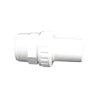 "Custom 21058-100-000 1.5"" bavure de tuyau lisse x MIP Econ Union"