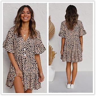 Leopard Plus Size Dress