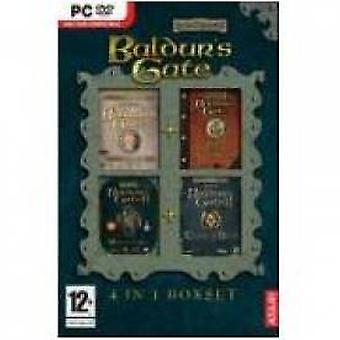 Baldurs Gate 4 in 1 Box Set Game PC