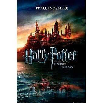 Harry Potter 7 Teaser Maxi Affisch