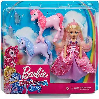 Barbie Dreamtopia Chelsea Princess &Baby Unicorns