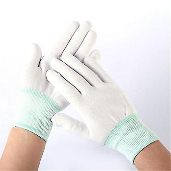 1pairs Garden-gloves, White Garden Cleaning Gloves