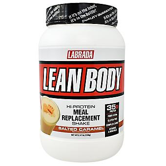LABRADA NUTRITION Lean Body Salted Carmel, 2.47 lbs