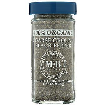Morton & Bassett Spice Pepr Blk Crs Grnd O, Case of 3 X 1.8 Oz