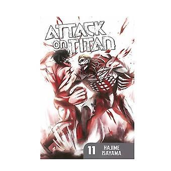 Attack on Titan 11 Paperback
