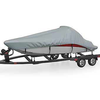 vidaXL Bootsplane Grau 710x304 cm