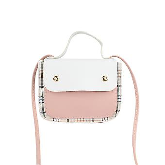 Top Handle Bag With Button Flap
