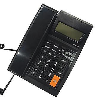 Stolní kabelový pevný telefon DAERXIN M64 kompatibilní s FSK/DTMF s LCD displejem
