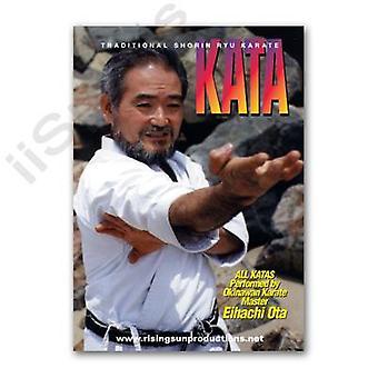 Traditionnel Shorin Ryu Karaté Kata Dvd Ota -Vd6947A