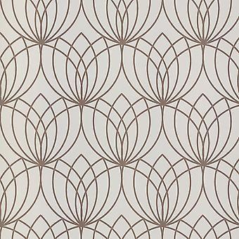 Muriva Lotus Crème Rose Fond d'écran 148504