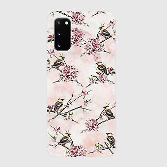 Eco friendly printed pink floral samsung galaxy s20 case