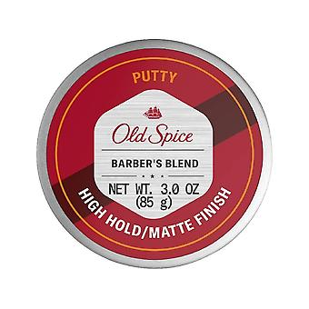 Old spice barber's blend putty for men, infused with aloe, 3 oz