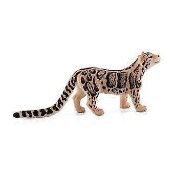 Wild Life & Woodland Clouded Leopard Toy Figure