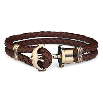 Bracelet Unisexe Paul Hewitt PH-PH-L-M-BR Cuir Marron/17-18 cm