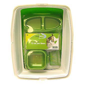 """Van Ness Cat Starter Kit - 19""""L x 15""""W x 4.25""""H"""