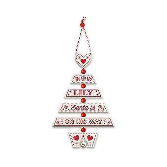 Historia & heraldinen joulukuusen koristelu - Lily 269800546 puinen käsintehty