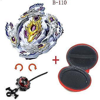 5 + Beyblade Burst Funken Turbo b48 Werfer, Metall Top Gyro Blade Klinge Spinning Kampf Spielzeug (B110)