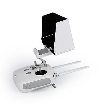 """Biały 5,5""""Osłona przeciwsłoneczna Osłona przeciwsłoneczna Dla Dji Phantom 2/3 Remote Rc Quadcopter Slide"""